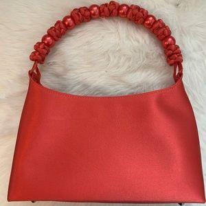 Talbots Coral evening purse